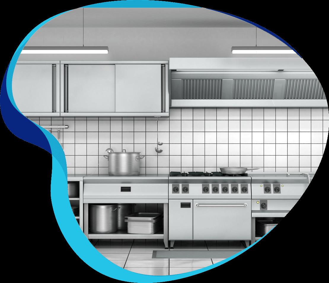 Kitchen Equipment Clean